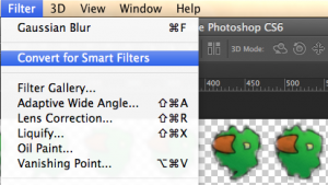 Photoshop Creative Cloud version and new smart filters feature