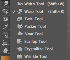 Illustrator Warp Tool